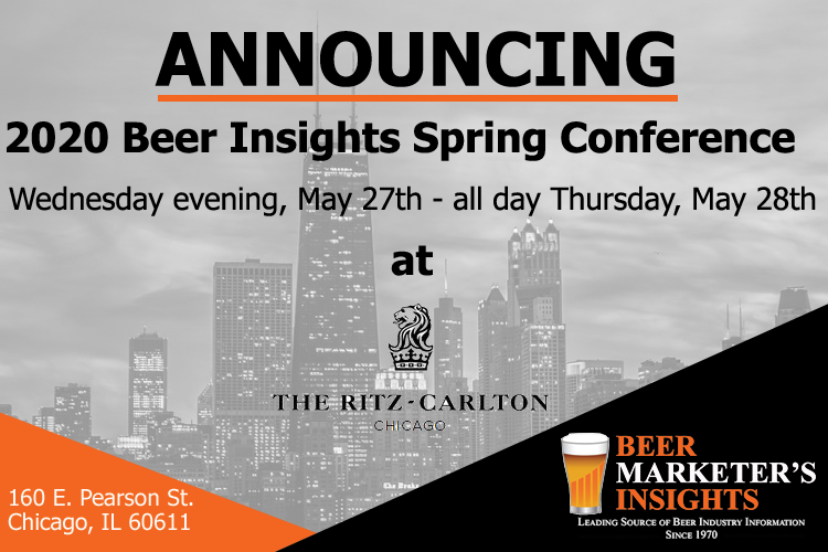 2020 Beer Insights Spring Conference
